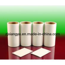 Polypropylene Film Adhesive Stickers Bright White Skin