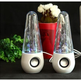 spring wire mini cute speaker