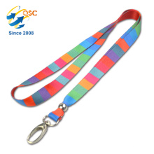 2018 New Arrival Amazon Lanyard with Heat Transfer Logo
