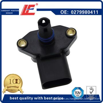 Auto Mapa Sensor de sensor de presión absoluta del manómetro del vehículo de Snesor 0279980411, 111422, 84.228, 0369980411 para VW, Seat, Audi, Skoda, estándar