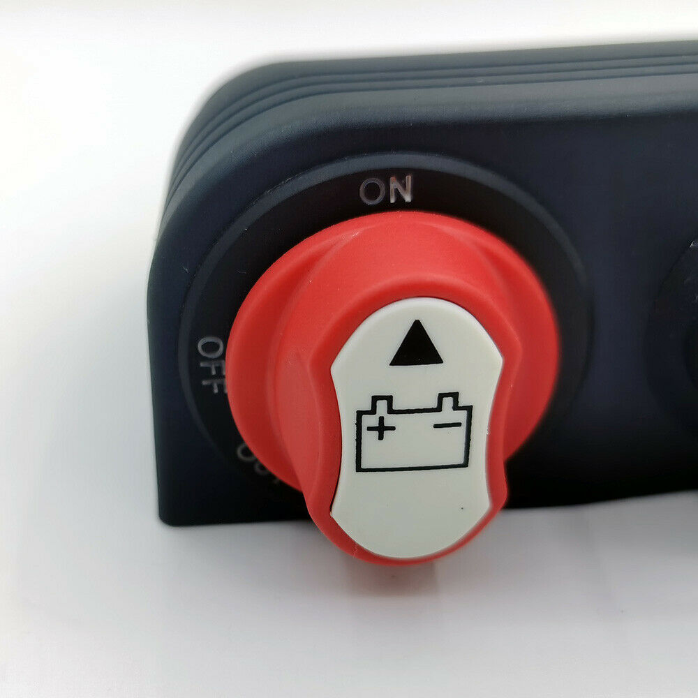 one-click start switch panel
