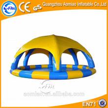 Couverture de piscine gonflable sur mesure, dôme de piscine gonflable