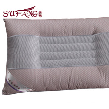 Special function pillow High Quality Hotel cheap wholesale body pillow insert Stereoscopic with red pipping down filling