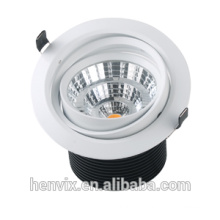 220v/110v 20w gimbal fire rated led downlight