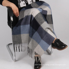Manta de lana tejida de alta gama