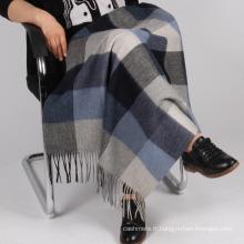 Couverture haut de gamme en laine tissée