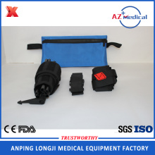 light weight aluminum or carbon traction splint