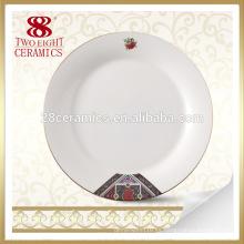 El cargador de la boda placas placas de cerámica de la etiqueta del recuerdo