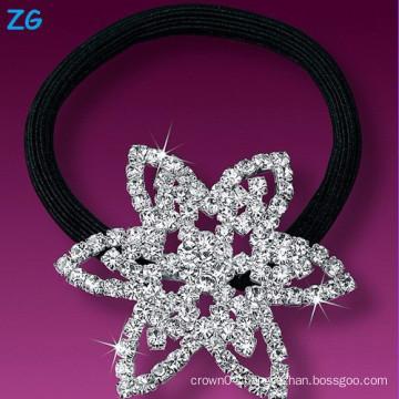 Luxurious full crystal ladies bridal hair band, rhinestone star wedding headband, french hair band