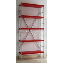 Красная металлическая стойка Пять слоев для продажи
