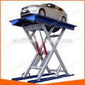 Gebrauchte hydraulische Scheren-Garage Wagenheber Hochaufzug