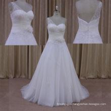 Factory Outlet 2014 New Design Wedding Dress Organza