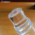 Trofeo de acrílico claro por encargo de la concesión de la fabricación de la fábrica con la insignia
