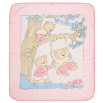 cheapest polyester baby blanket
