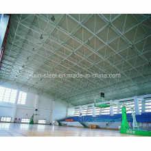Construction d'acier Construction de fabrication avec cadre de toit de treillis spatial