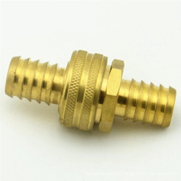 Brass made water hose swivel coupler