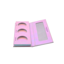 Cosmetic packaging box paper eyeshadow palette box recycled paper 3 pans Colors Pocket Eyeshadow Palette Box