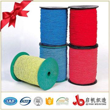 Подгонянная оптовой продажей стрейч плетеный эластичный webbing хлопка