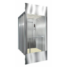 800kg Square Stainless Steel Panoramic Elevator (XNG-012)