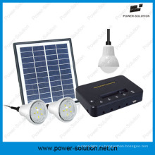 Доступной солнечной энергии системы освещения с 3 лампы в сельских районах