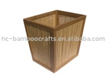 Bamboo Waste Paper Basket