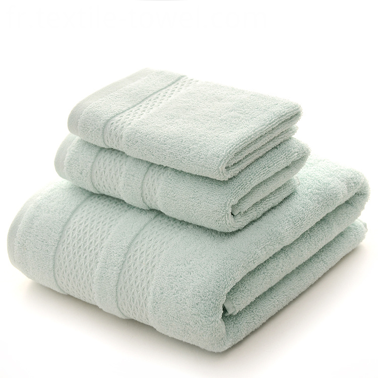 Mint Green Bath Towels Set