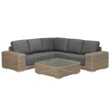 Garden Rattan Patio Lounge Sofa Set Outdoor Wicker Furniture