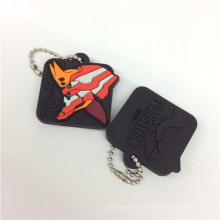 Professional Manufacture Customize Christmas Gift Silicone Keychains