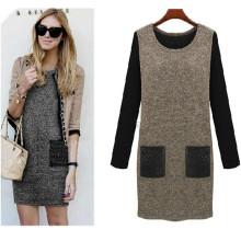 Горячие Продажи Моды Элегантные Дамы Плюс Размер Платье (50015)