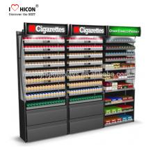 Deutlich niedriger die Gesamtkosten von Ihrem Tabak und Zigarettenwand Display Unit Zigarette Display Schrank