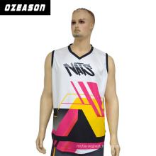 Custom Made Fashion Printing Sublimation Gym Singlet