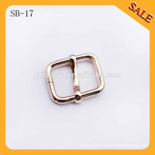 SB17 Wholesale decorative custom gold metal shoe buckle