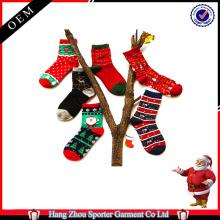 16FZCSS3 gestrickte hässliche Weihnachtssocke