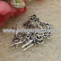 21*9MM Antique Silver Key Charms Pendants For Jewelry Making