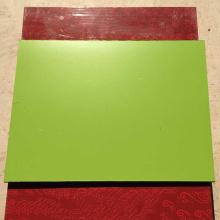 Panel ACP de metal decorativo con superficie ignífuga