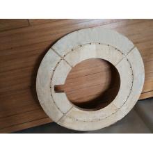 Densified Laminated Wood Pressure Ring