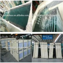 6 mm Float Ultra Clear Glass Panel Hijau