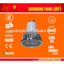 Sunger 5W COB LED Spotlight GU10/MR16 with CE and ROHS 2700-7000K