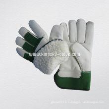 Корова Зерно Акриловая куча выложены зимней рабочей перчатки (3108)