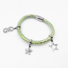 Bijoux à la mode de bracelet de charme de style d'aimant, bracelet fait sur commande de charme