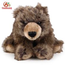 ICTI Atacado 35 cm Plush Urso Polar pp algodão recheado animais brinquedo