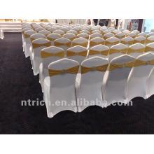 tampa da cadeira banquete, tampa da cadeira de lycra, CTS811 branco, apto para todas as cadeiras