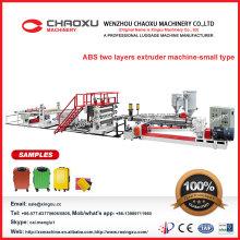 Alta máquina profesional del extrusor de la hoja del ABS de dos tornillos en venta popular