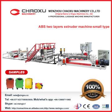 Hoher Fachmann zwei Schrauben ABS Blatt-Extruder-Maschine im populären Verkauf