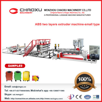 High Professional Two Screws ABS Sheet Extruder Machine in Popular Sale