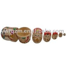 Artesanías de madera Rusia Doll