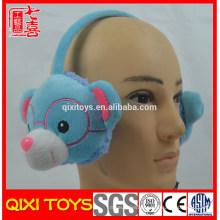 Ear warmer bear pelúcia brinquedo earmuff fone de ouvido