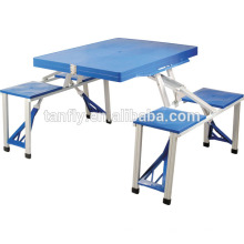 picnic table set dining portable foldable outdoor camping lawn furniture