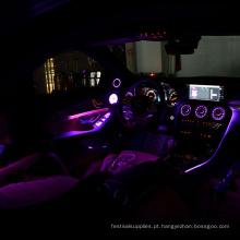 Luzes de cabo brilhante de fibra óptica para carro