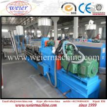 WPC PVC PE PP Wood Grain Hot Cutting Pelletizer Machine